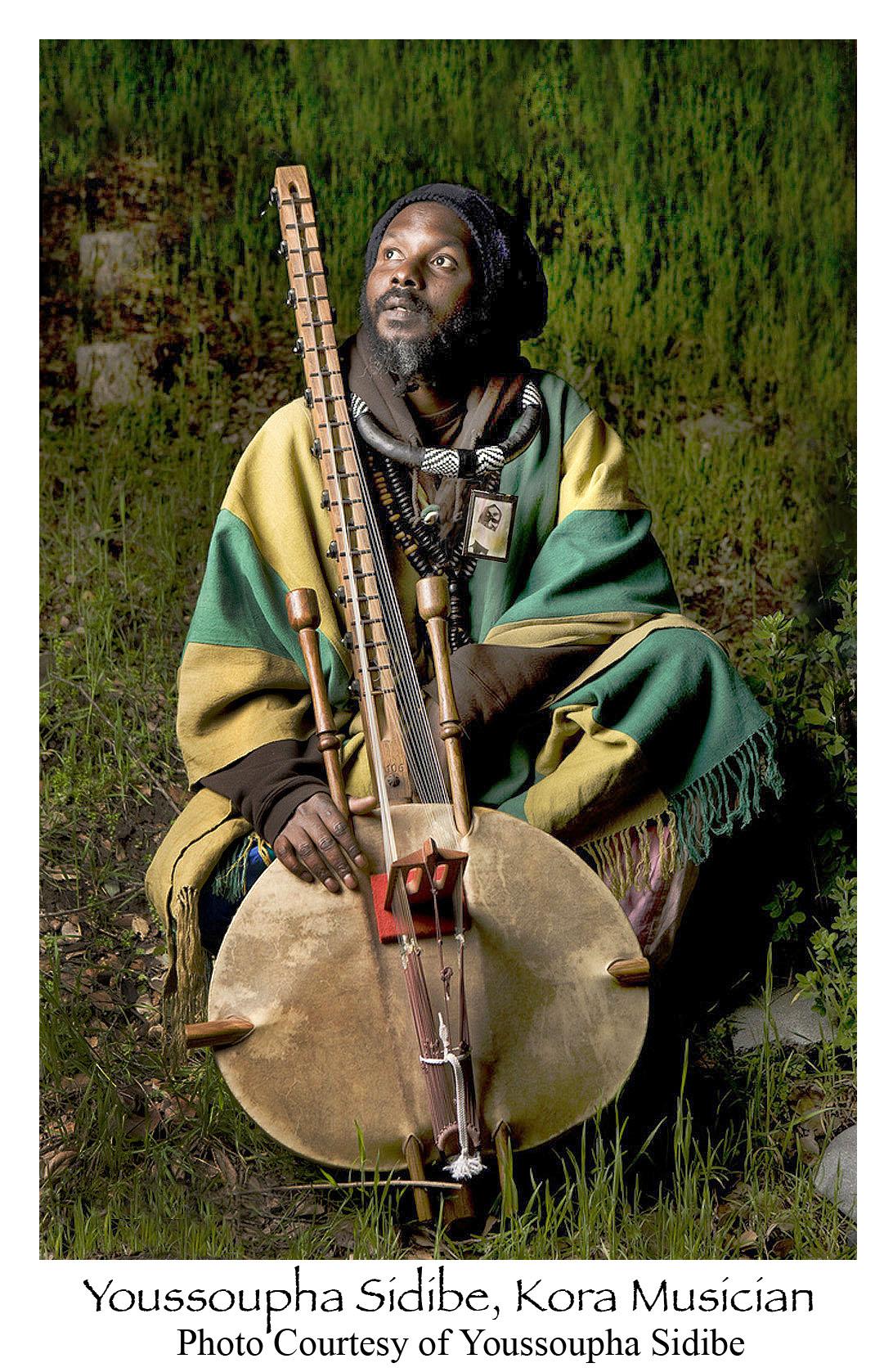 Youssoupha Sidibe kora musician 052016