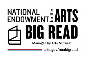 National Endowment for the Arts and Arts Midwest Big Read logo